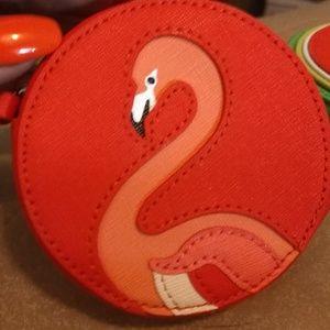 Kate Spade.. Flamingo coin purse New